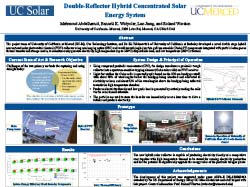 Double-Reflector Hybrid Concentrated Solar Energy System