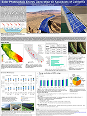 Solar Photovoltaic Energy Generation on Aqueducts of California
