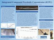 Integrated Compound Parabolic Concentrator (ICPC)