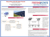Recycling of Is PV Solar Panels